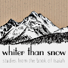 Whiter than snow - Studies from the book of Isaiah